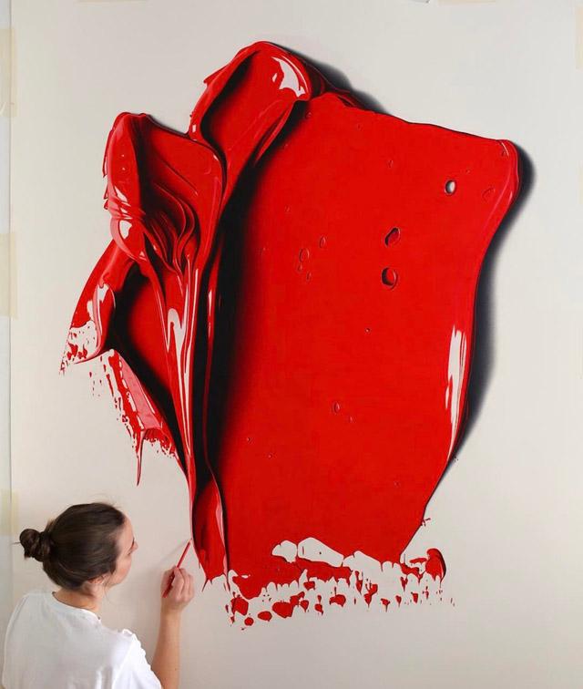 работа из серии «Бесплатные цвета» («Complimentary Colors»)