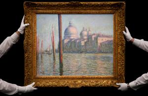 Клод Моне - Большой канал, фото Sotheby's