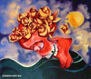 Владимир Дианов. Scull' N' Roses (1992)