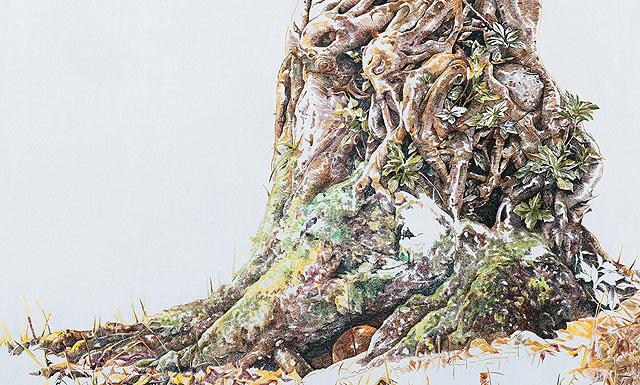 художница Чжао На