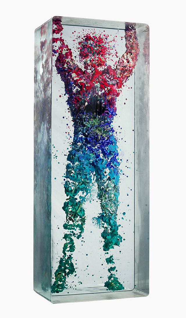инсталляция Дастина Йеллина