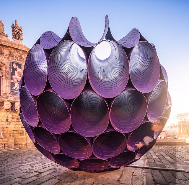Инсталляция «Затмение» в Порту
