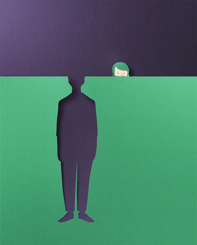 работа таллинского иллюстратора Эйко Ойалы