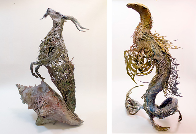 Скульптуры Эллен Джьюетт