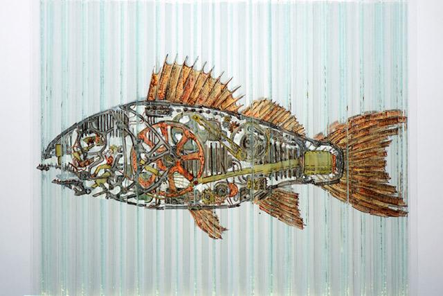 Рыбка изнутри