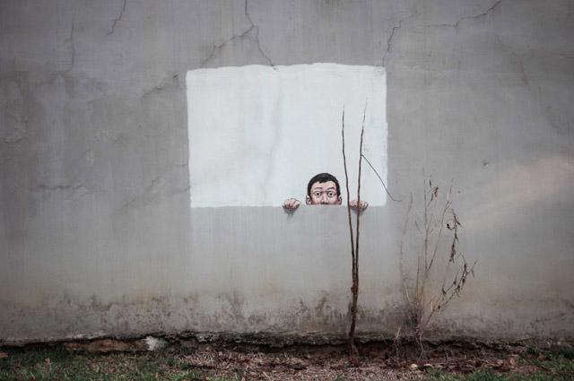 уличное искусство Эрнеста Захаревича