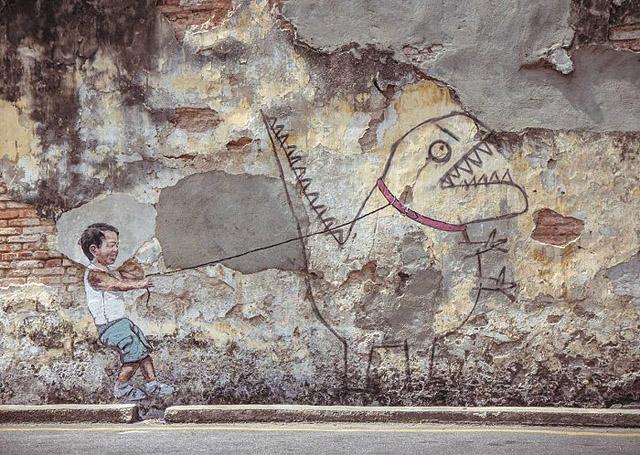стрит-арт с детьми