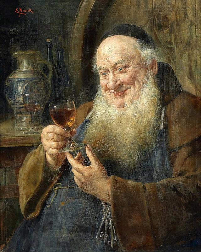 Картина австрийского художника Эрнста Новака (Ernst Nowak) (1851-1919)