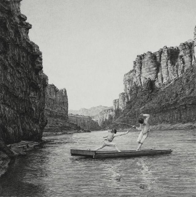 Работа художника Итана Мёрроу
