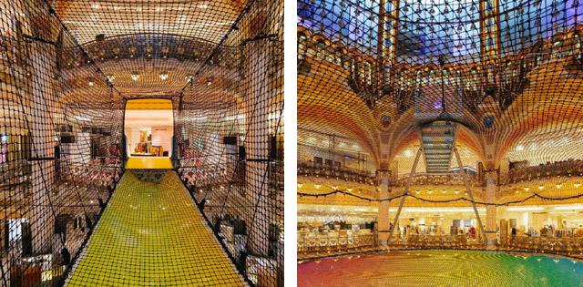 игровая инсталляция в торговом центре «Галери Лафайет»