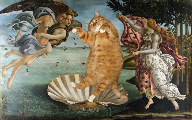 рыжий кот Заратустра и возвышенное Ыскусство