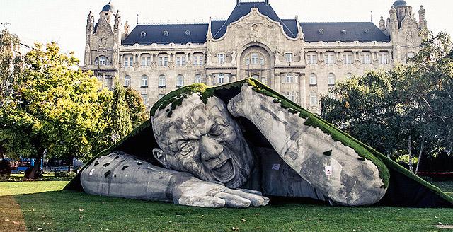 Великан в Будапеште