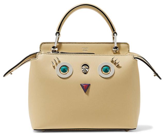 сумка с глазами Фенди