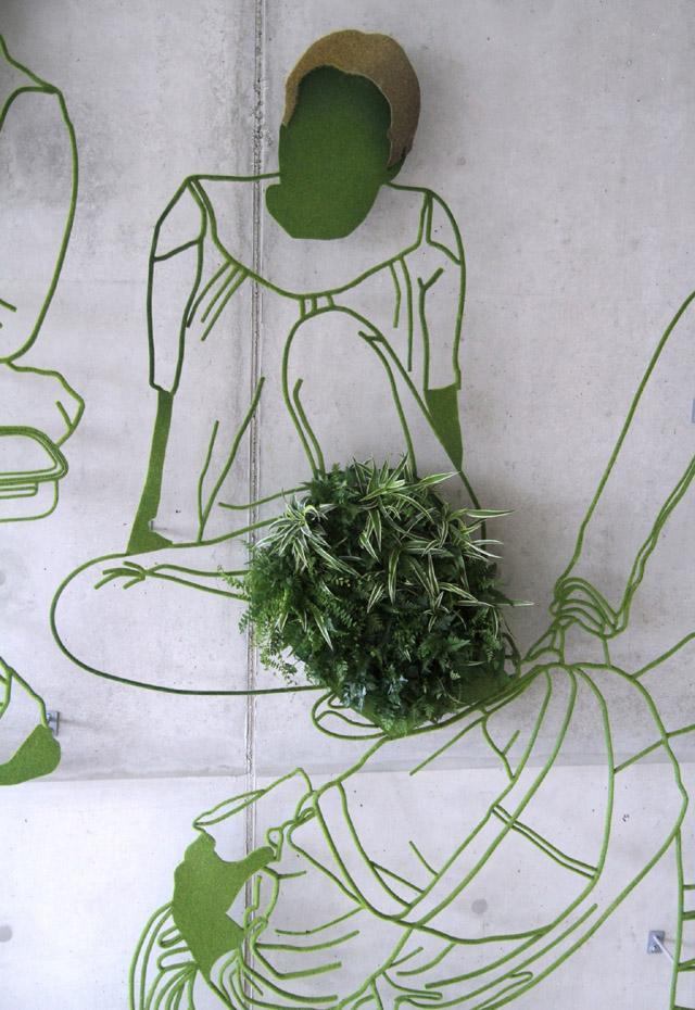 Скульптурная композиция Фрэнка Планта