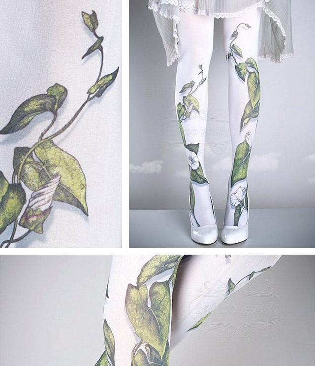 Авторские колготки от болгарских дизайнеров Габби и Идан