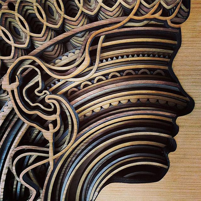 Американский скульптор Гэбриэл Шама