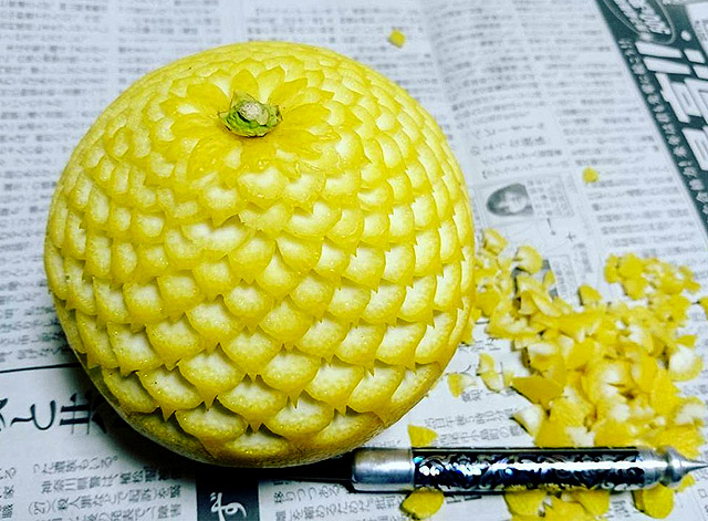 шедевр японского искусства «микимоно» от мастера Гаку