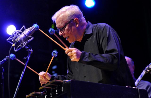 Gary Burton at the Berklee Performance Center, photo: Phil Farnsworth