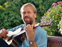 Немецкий гитарист-любитель Герхард Гшоссманн