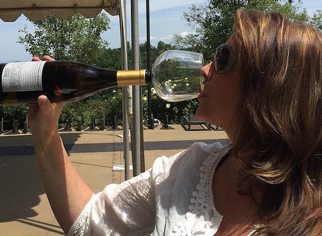 бокал-пробка для вина