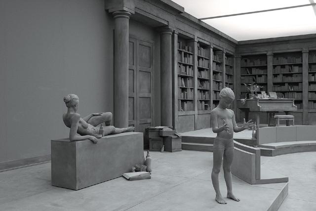 Инсталляция «The Collector's House» Ханса Оп де Бека (Hans Op de Beeck)