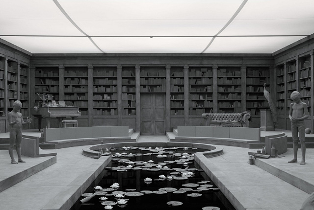 детали инсталляции «The Collector's House» («Дом коллекционера») Ханса Оп де Бека (Hans Op de Beeck)