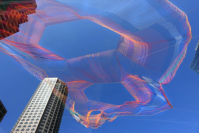 work by Janet Echelman