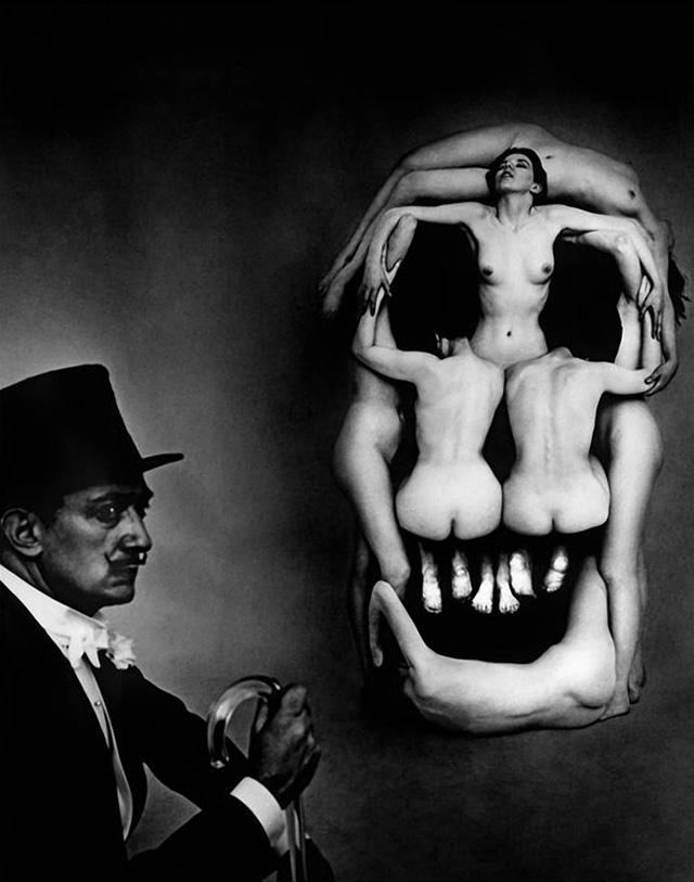 In Voluptate Mors, foto: Philippe Halsman (1951)