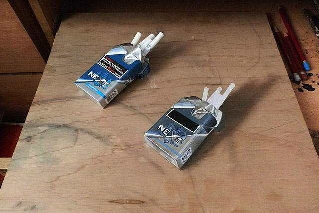 две пачки сигарет