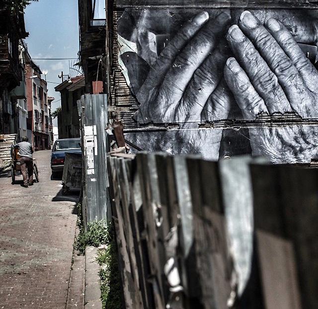 """""""Морщины города"""", Стамбул, Турция (2015)"""
