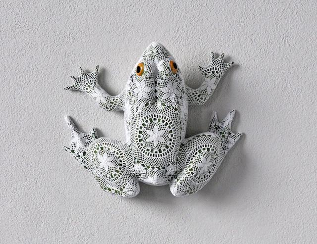 лягушка из керамики (Жуана Васконселос)