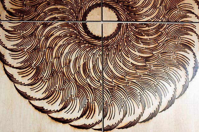 работа американского скульптора Джона Бизби