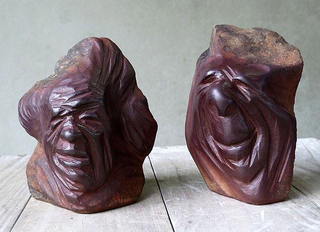 скульптор Хосе Мануэль Кастро Лопес