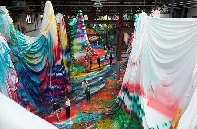 инсталляция Катарины Гроссе (2018)