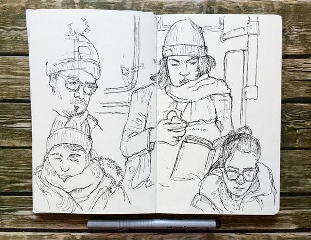 зарисовка Кейра Эдмондса