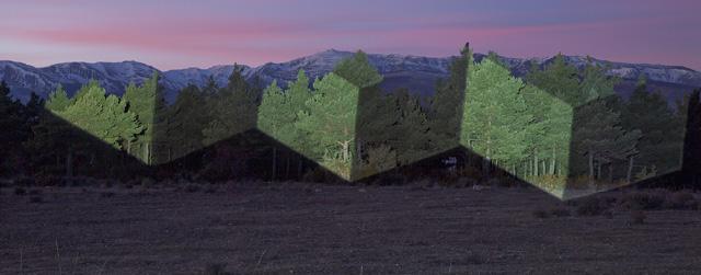 световая проекция Хавьера Риеры