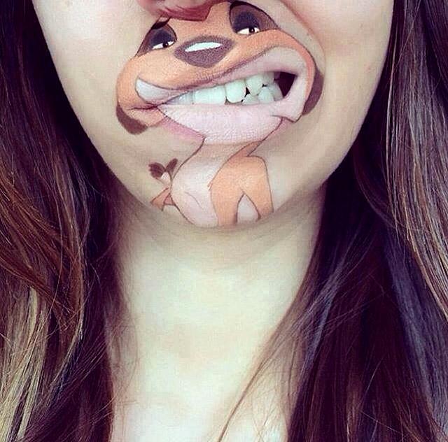 make-up Лоры Дженкинсон