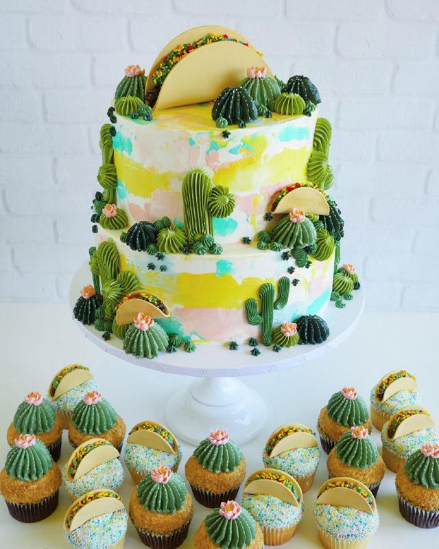 торт в оформлении Лесли Виджел