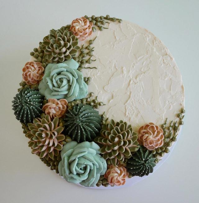 торт в оформлении Лесли Виджел (США)