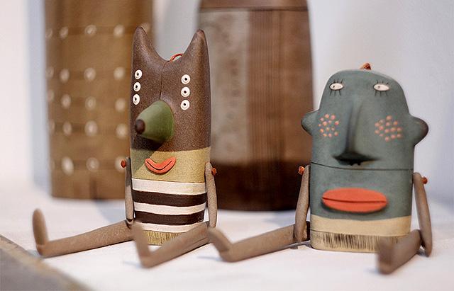 фигурки из керамики