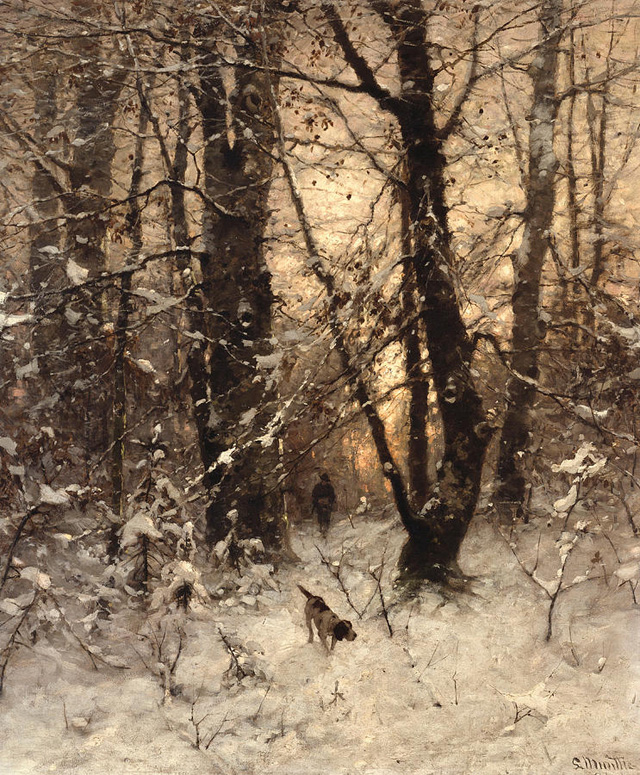 Ludwig Munthe - ''Winter Twilight'' (1891)