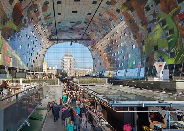 Интерьер рынка (Роттердам)