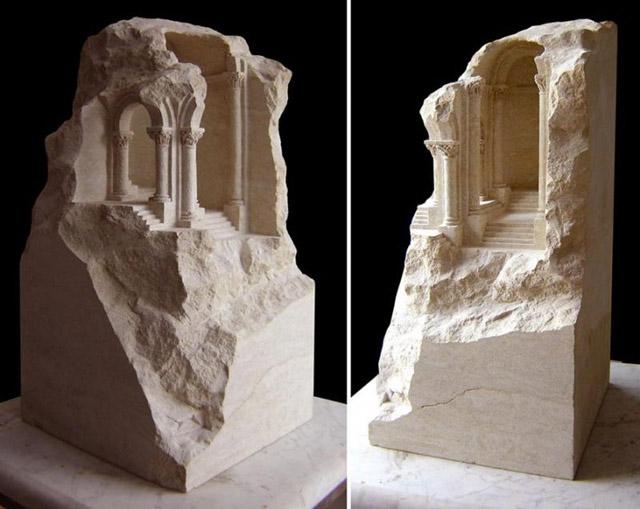 архитектурная модель в миниатюре