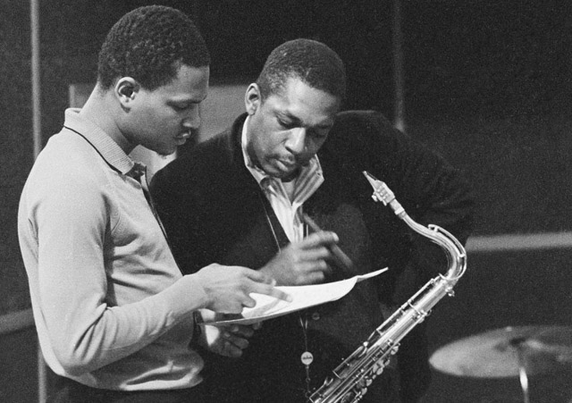 McCoy Tyner & John Coltrane (1964) photo: Getty Images