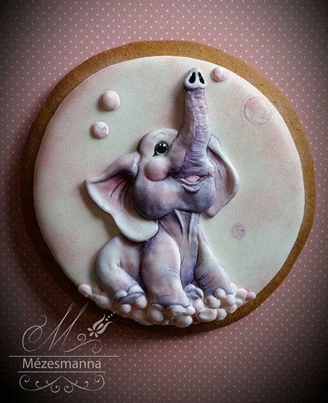 авторское арт-печенье