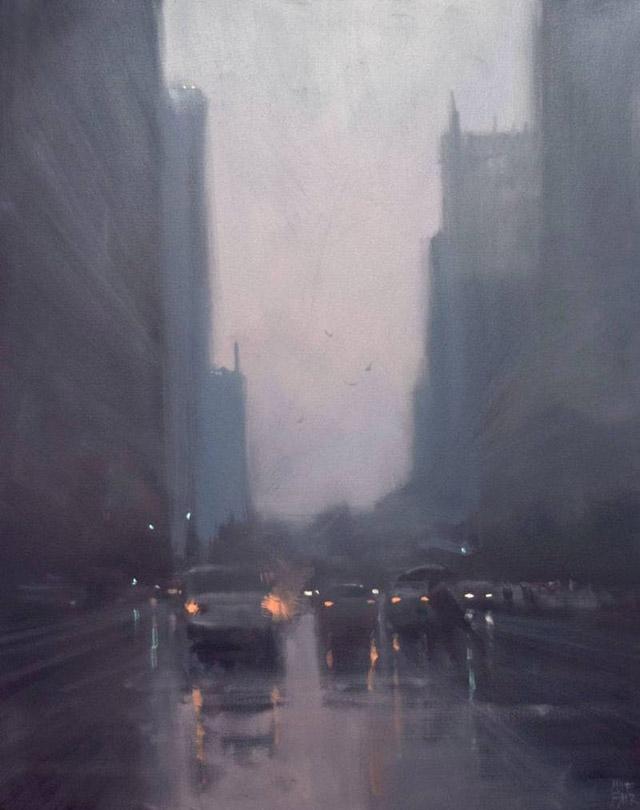 картина Майка Барра