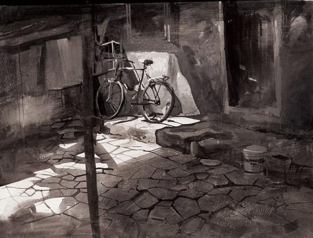 Акварель Милинда Малика (Индия)