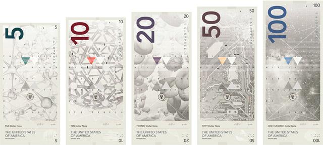 доллары в новом дизайне