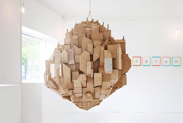 скульптурная инсталляция Floating City