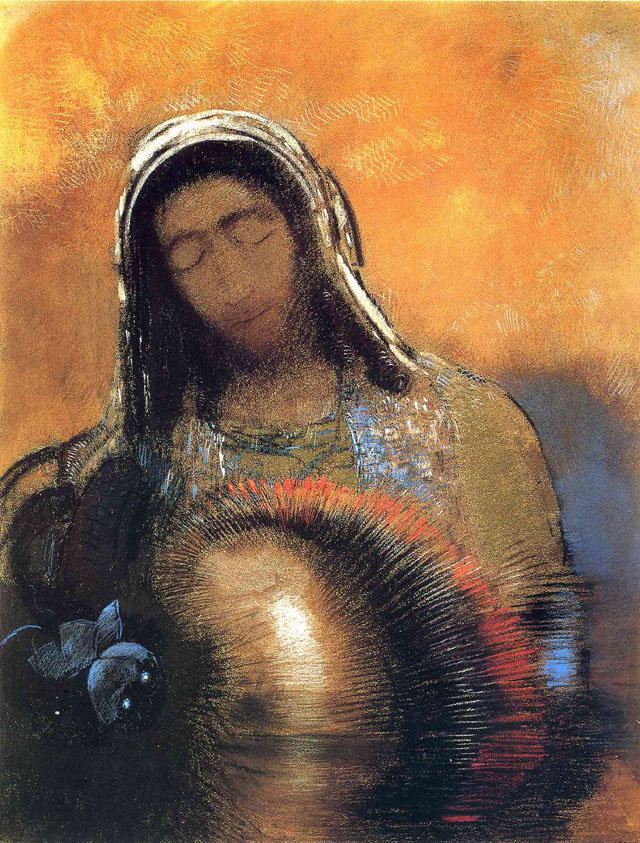 Work by Odilon Redon (1840-1916)